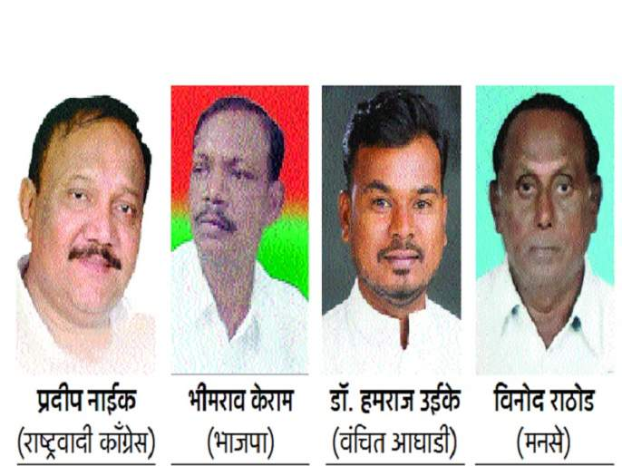 Maharashtra Election 2019 : Traditional competitive face-to-face in Kinwat | किनवटमध्ये परंपरागत प्रतिस्पर्धी आमने-सामने