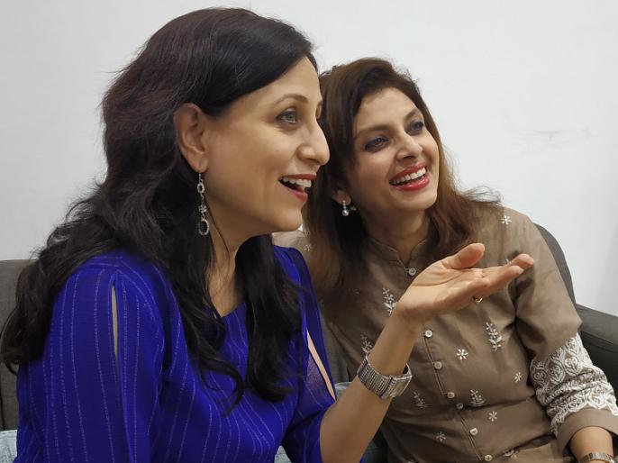 varsha usgaonkar will seen with Kishori Shahane first time | प्रथमचरंगणार वर्षा उसगांवकर- किशोरी शहाणेची जुगलबंदी