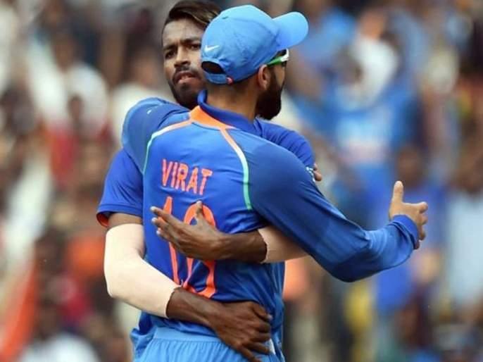 Offensive statement: Virat Kohli kicked off his hand with 'Pandya' | आक्षेपार्ह वक्तव्य : पांड्याबाबत विराट 'कोहलीने हात झटकले'