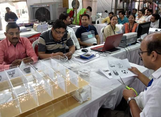 Equal voting in EVMs, VVPATs in Nagpur Lok Sabha Constituency | नागपूर लोकसभा मतदार संघातील ईव्हीएम, व्हीव्हीपॅटमधील मते निघाली समान