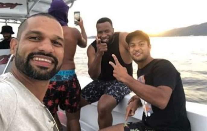 Indian players enjoying holidays in the West Indies; Watch exclusive videos | वेस्ट इंडिजमध्ये भारतीय खेळाडूंची धमाल-मस्ती; पाहा खास व्हिडीओ