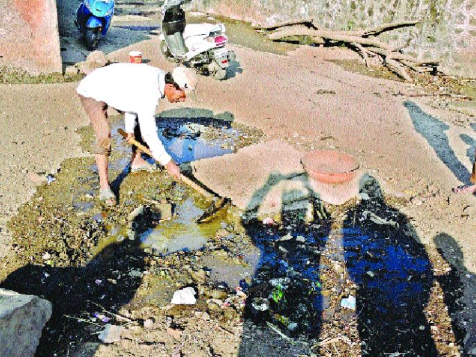 'Bandya' created in Sadarbazar, cleanman! Non-stop service: Honest citizens appreciate it | सदरबझारमधील 'बंड्या' बनलाय स्वच्छतादूत! अविरत सेवा : प्रामाणिकपणाचे कौतुक