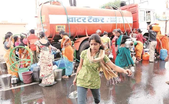 Patwihalkar water flirting   पाटविहीरकरांची पाण्यासाठी भटकंती