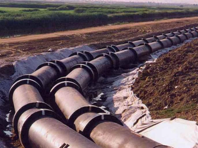 Work order for the Ujani-Solapur parallel waterway work | उजनी-सोलापूर समांतर जलवाहिनीच्या कामाची वर्कऑर्डर
