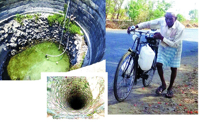 Water planning in every village still increases the intensity of the waste   प्रत्येक गावात पाणी योजना तरीही वणवण- टंचाईची तीव्रता वाढली