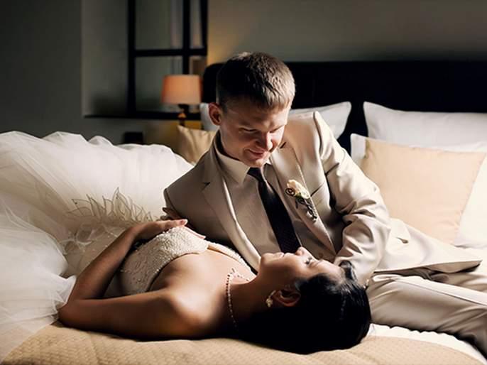 4 useful wedding night sex tips for newly weds | लैंगिक जीवन : ....जेणेकरून पहिल्याच रात्री काही अजब घडू नये!