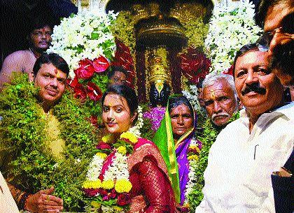 i will do next year Mahapooja of Vitthalal too | पुढील वर्षीही माझ्याच हस्ते विठ्ठलाची महापूजा