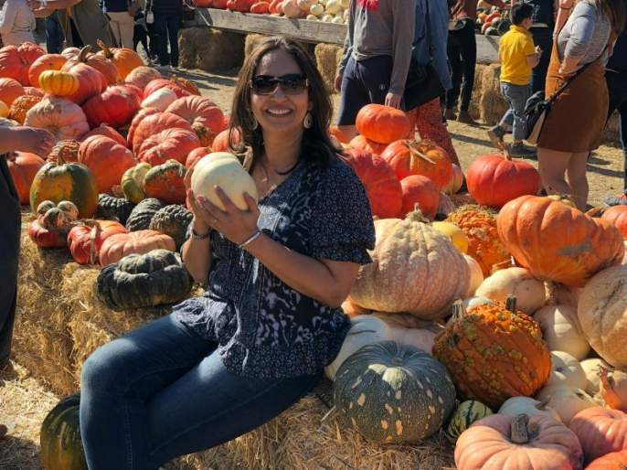 Ashwini Bhavani celebrates 'Haa' Festival in America | अश्विनी भावेंनी अमेरिकेत सेलिब्रेट केला 'हा' फेस्टिवल