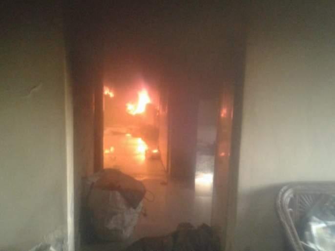 firefighter did his duty on his holiday | सुट्टीच्या दिवशीही अग्निशमन जवानाने बजावले कर्तव्य