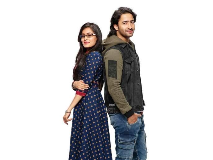 Rhea Sharma composes a rap on her co-actor Shaheer Sheikh | रिया शर्माने तयार केले 'या' सहकलाकारवर रॅप तयार !