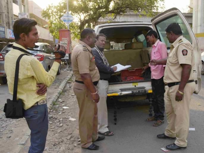 In the backdrop of the Lok Sabha elections, cash of Rs 71 lakh was seized   लोकसभा निवडणुकीच्या पार्श्वभूमीवर ७१ लाखांची रोकड जप्त