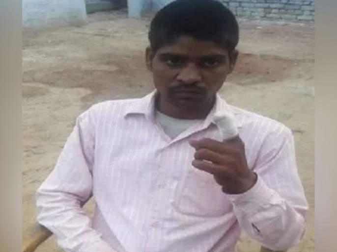 bulandshahr after voting for bjp by mistake bsp supporter chops off his finger later releases | BSP ऐवजी BJP ला वोट, पश्चाताप झाला म्हणून कापलं बोट