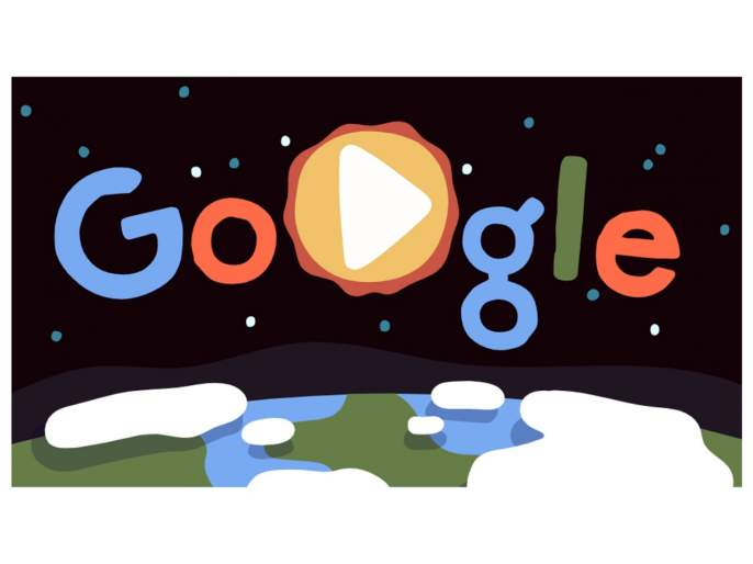 google celebrates earth day with a special animated doodle video | Earth Day 2019: Google Doodle मधून पृथ्वीच्या सुंदरतेचं दर्शन