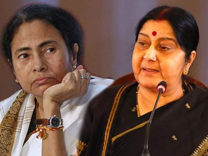lok sabha election 2019 sushma swaraj slams priyanka gandhi and mamata for target pm modi | दुश्मनी जमकर करो, लेकिन... सुषमा स्वराज यांचं ममता बॅनर्जींना प्रत्युत्तर