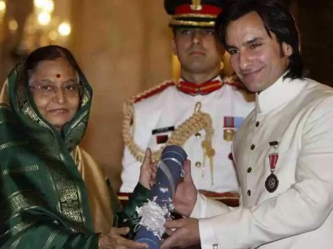 Wanted to give the Padma Shri back: Saif Ali Khan | ...म्हणून सैफ अली खान परत करणार होता पद्मश्री