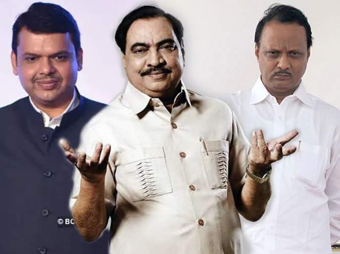Eknath Khadse aggressive stand against Devendra fadanvis government in session | निष्ठावंत एकनाथ खडसे नक्की कुणाचे? भाजपाचे की विरोधकांचे?
