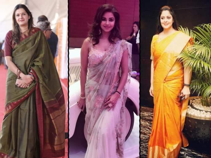 Women Are Sharing Their Favourite Pics For #SareeTwitter | #SareeTwitter : सेलिब्रिटींपासून राजकारण्यांपर्यंत या ट्रेंडची सर्वांनाच भुरळ