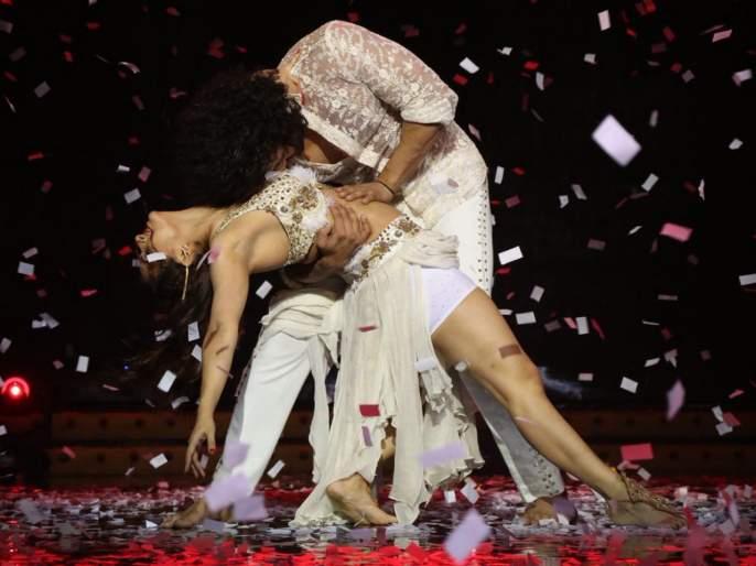 Nnach baliye 9 madhurima tuli slap her ex boyfriend vishal aditya singh in rehearsal   धक्कादायक! नच बलिये 9: रिहर्सल दरम्यान एक्स कपलमध्ये खडाजंगी, मधुरिमाने लगावली विशालच्या श्रीमुखात