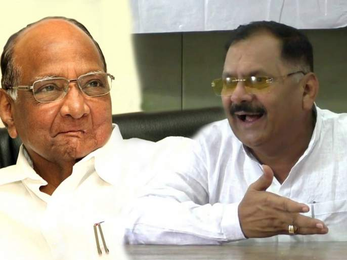 Sharad Pawar sends NCP leaders to BJP: Ananarao Patil | राष्ट्रवादीचे नेते भाजपात पाठविण्याची शरद पवारांचीच खेळी?; 'या' नेत्याने केला आरोप