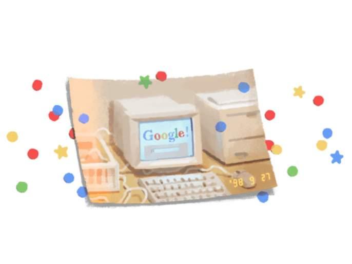 google celebrates its 21st birthday with a special doodle | Happy Birthday Google! लोकप्रिय सर्च इंजिन गुगलचा आज 21 वा वाढदिवस