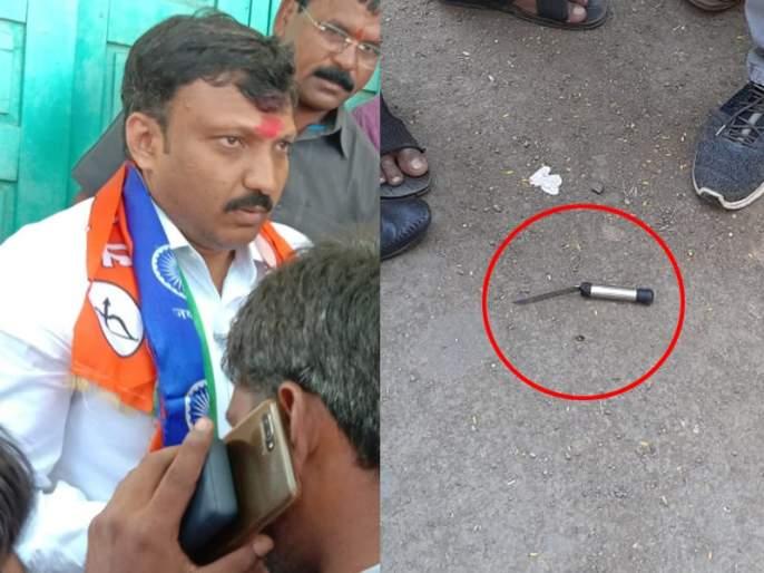 Big Breaking: Knife attack on Shiv Sena MP Omrajee Nimbalkar in Kalamb taluka | Big Breaking: ओमराजे निंबाळकर यांच्यावरील हल्ला, फरार आरोपीविरुद्ध गुन्हा दाखल
