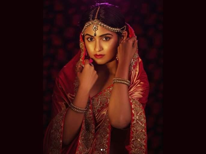 shivani baokar Bridal Look Viral On Social Media   सोशल मीडियावर नववधूप्रमाणे नटलेल्या या अभिनेत्रीला ओळखले का ? लग्नाच्या चर्चांना उधाण
