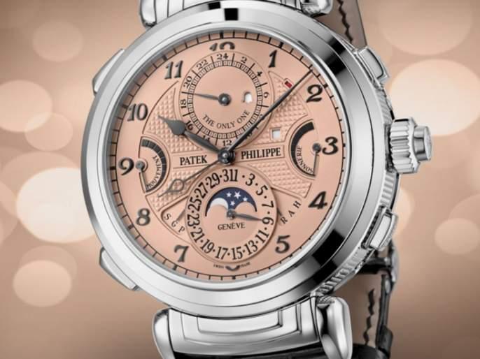 patek philippe sold world most expensive watch grandmaster chime | जगातील सर्वात महागडं घड्याळ; किंमत ऐकून डोळे चक्रावतील