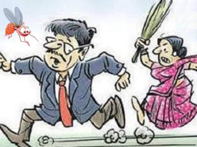 gujarat angry wife beaten husband with pestle for mosquito bite | खरंच की काय? डास चावला अन् बायकोनं नवऱ्याला धू धू धुतला!
