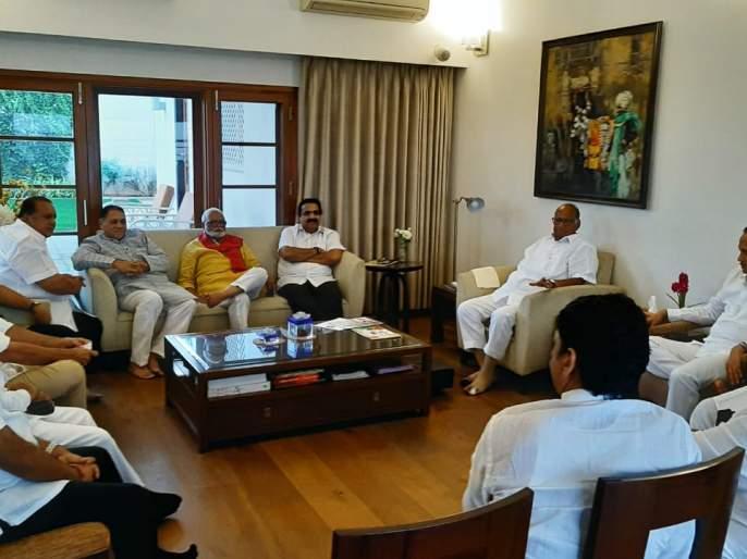 Maharashtra Election, Maharashtra Government: Discussion on Devendra Fadanvis Statement is'I will come again' at NCP meeting; Tiktok, Bhau Kadam and many more | Maharashtra Government: राष्ट्रवादीच्या बैठकीत 'मी पुन्हा येईन'वर चर्चा; टिकटॉक, भाऊ कदम अन् बरचं काही