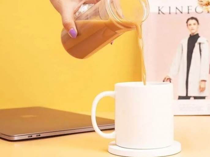 xiaomi launched special warm cup to keep beverages constantly hot at set temperature | चहा गरम ठेवणार, फोनही चार्ज होणार; असा आहे भन्नाट Warm Cup