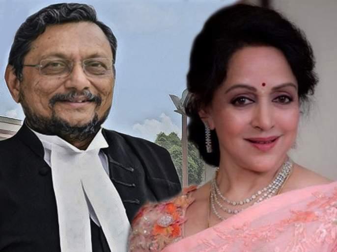 CJI Sharad Arvind Bobde and hema malini case | हेमा मालिनींना चाहत्यांपासून वाचवण्यासाठी शरद बोबडे यांनी लढवली होती 'ही' शक्कल