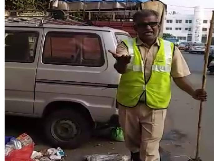 the person who crate song on garbage is going to be cleanliness idol | कचऱ्यावर गाणं करणारा हाेणार स्वच्छता दूत