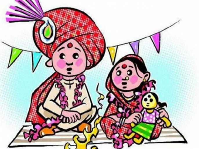 child marriage in mokhavane shahapur | बोहल्यावर चढण्याअगोदरच प्रशासनाने रोखला बालविवाह