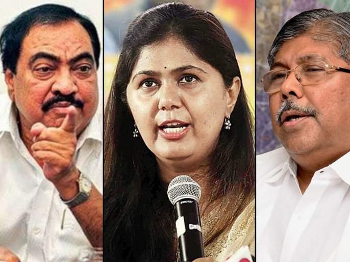 If you take action against the party, you will not sin; Chandrakant Patil warning to Khadse-Pankaja Munde | पक्षविरोधी कारवाया कराल तर गय करणार नाही; चंद्रकांत पाटलांचा खडसे-पंकजा मुंडेंना इशारा