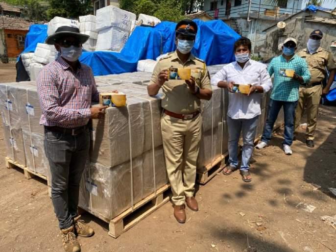 Coronavirus: the mask's black marketing again; More than 1 crore masks seized from Godown pda | Coronavirus : पुन्हा मास्कचा काळाबाजार; गोडाऊनमधून तब्बल १ कोटींचे मास्क जप्त