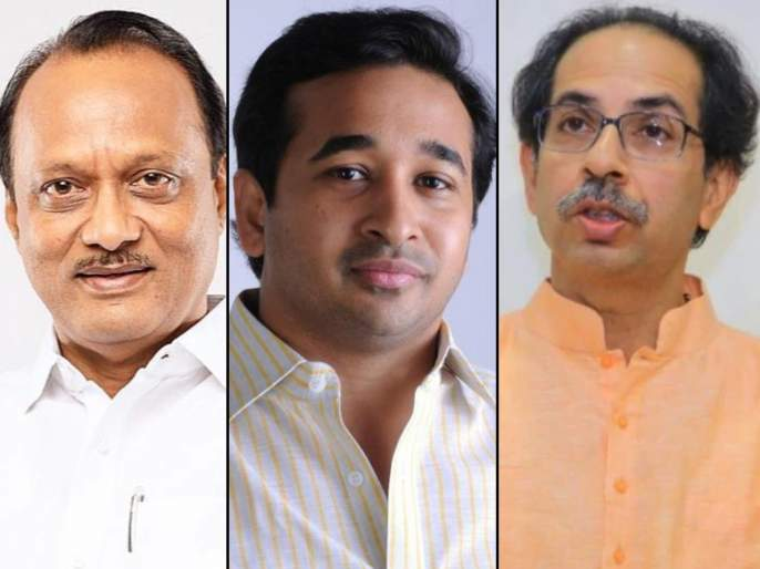 Coronavirus: BJP Mla NItesh Rane Target CM Uddhav Thackeray & Appreciate Ajit Pawar pnm | Coronavirus: आमदार नितेश राणेंकडून अजित पवारांचे कौतुक तर उद्धव ठाकरेंना लगावला टोला, म्हणाले...