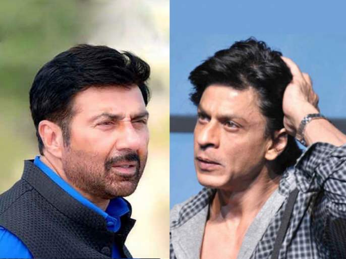 Sunny deol had not spoken to shah rukh khan for 16 years after 'darr' movie | सनी देओल 'डर' सिनेमानंतर तब्बल 16 वर्षे शाहरुख खानशी बोलला नव्हता, कारण वाचून व्हाल हैराण