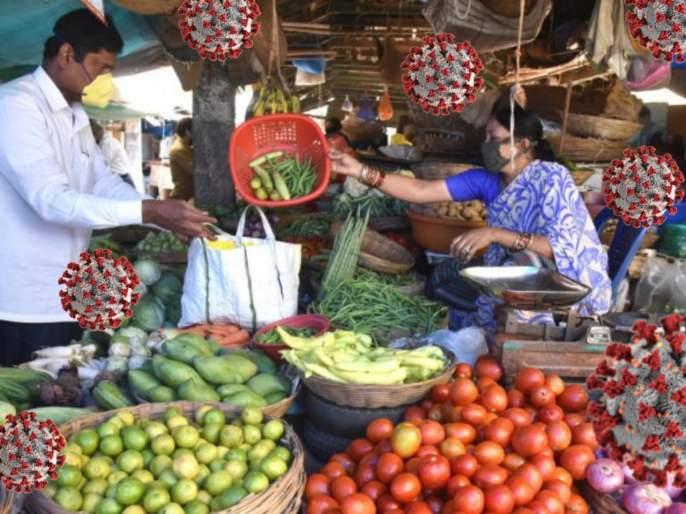 Coronavirus : Day to day living with coronavirus sanitizing fruits and vegetables myb | कोरोनासोबत जगताना विषाणूंच्या संक्रमणाला लांब ठेवण्यासाठी; 'अशी' घ्या काळजी