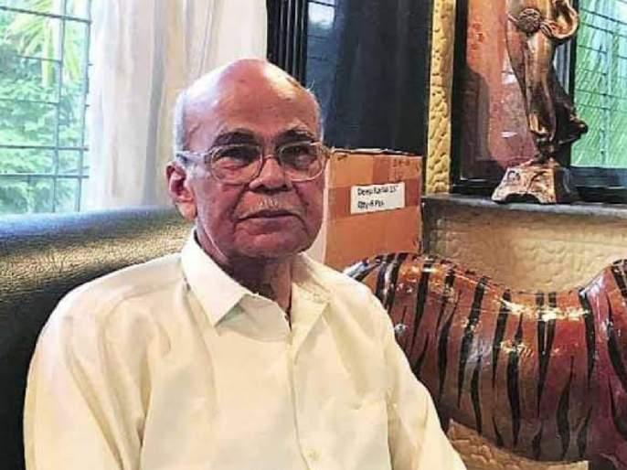 Worker leader, Jitendra Awhad's father-in-law Dada Samant committed suicide pda | कामगार नेते, जितेंद्र आव्हाड यांचे सासरे दादा सामंत यांची आत्महत्या