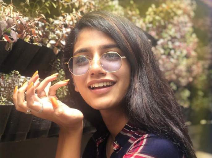 Priya prakash varrier is back on instagram reveals the reason   अचानक Instagramवरुन गायब झाली होती प्रिया प्रकाश वारियर, आता Video शेअर करत सांगितले कारण