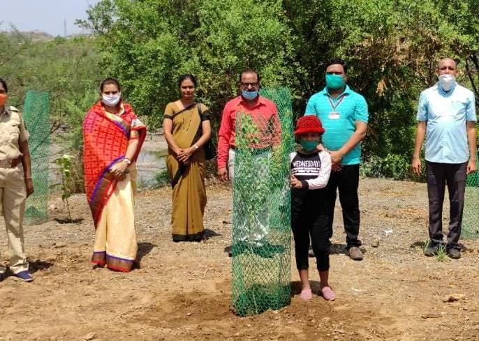 Plantation on the occasion of World Environment Day | जागतिक पर्यावरण दिनानिमित्त ठिकठिकाणी वृक्षारोपण