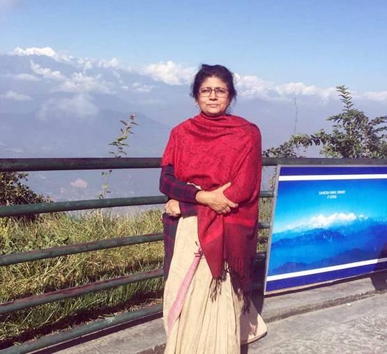 nepal map row sp expels lawmaker sarita giri from party and house   भारताच्या बाजूने बोलणार्या नेपाळी खासदारावर कारवाई, पक्षातून निलंबन