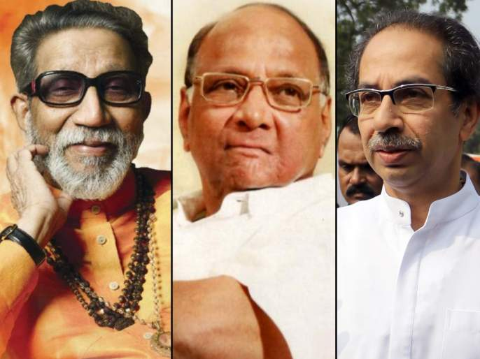 'This' is the important difference between Balasaheb and Uddhav Thackeray, Sharad Pawar's observation   'हा' आहे बाळासाहेब आणि उद्धव ठाकरेंमधला महत्त्वाचाफरक; शरद पवारांचं निरीक्षण