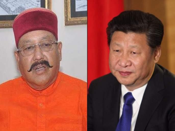 uttarakhand minister satpal maharaj sents ramayana china president galwanclash | ...म्हणून उत्तराखंडच्या पर्यटनमंत्र्यांनी चीनच्या राष्ट्राध्यक्षांना पाठवलं 'रामायण'