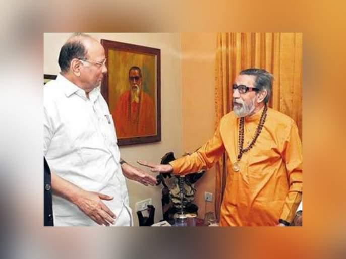"Balasaheb thackeray was remembered in two months lockdown says sharad pawar | ""...म्हणून लॉकडाऊनच्या दोन महिन्यांत बाळासाहेबांची आठवण आली"" - शरद पवार"
