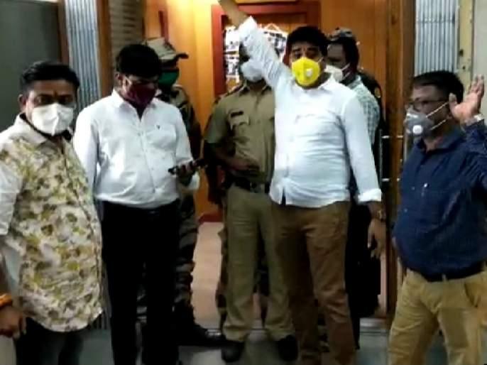 Filed a case against MNS's Avinash Jadhav and other office bearers   निंदनीय प्रकार भोवला! मनसेच्या अविनाश जाधव यांच्यासह अन्यपदाधिकाऱ्यांवर गुन्हा दाखल