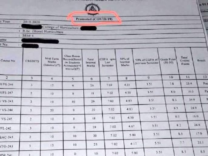 ''Covid promoted stamping on students' marks is a perversion'', Saamana editorial Criticized Agricultural University | विद्यार्थ्यांच्या गुणपत्रिकेवर कोविड प्रमोटेड शिक्का मारणे ही विकृतीच, सामनामधून घणाघात