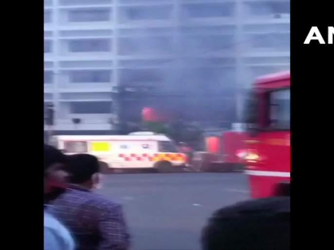 7 killed fire hotel being used Covid-19 facility Andhra Pradesh's Vijawada | Breaking: विजयवाडामध्ये कोविड सेंटरला भीषण आग; 7 जणांचा मृत्यू