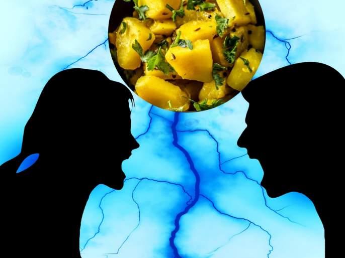 Diabetic man objects to potato curry, wife beats him Ahmedabad | बापरे! बटाट्याच्या भाजीला विरोध केला म्हणून संतापलेल्या पत्नीने पतीला धोपाटण्याने चोपले