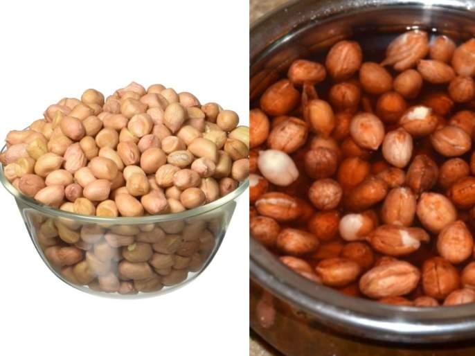 Health Tips : health benefits eating soaked peanuts water | रोज भिजवलेले शेंगदाणे खाल्यानं टळेल 'या' आजारांचा धोका; जाणून घ्या आरोग्यदायी फायदे